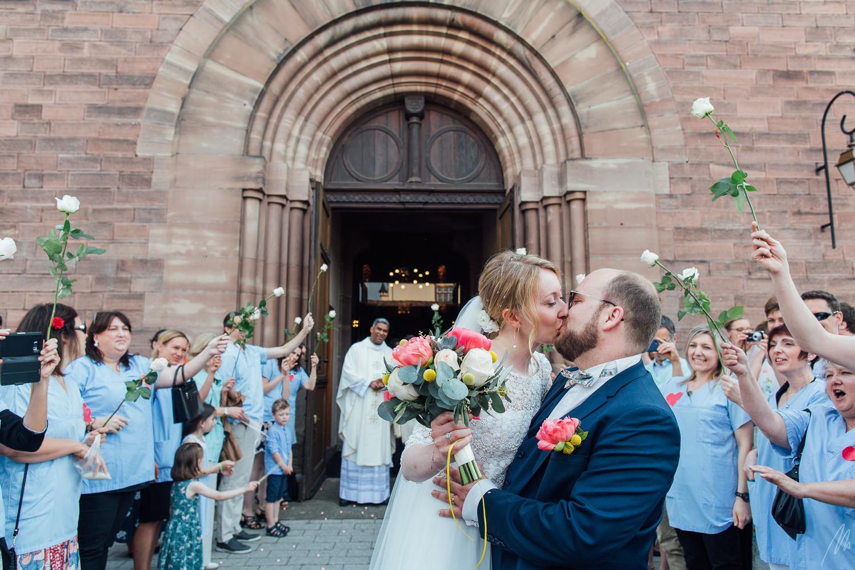 Mariage Sortie d'Eglise Strasbourg