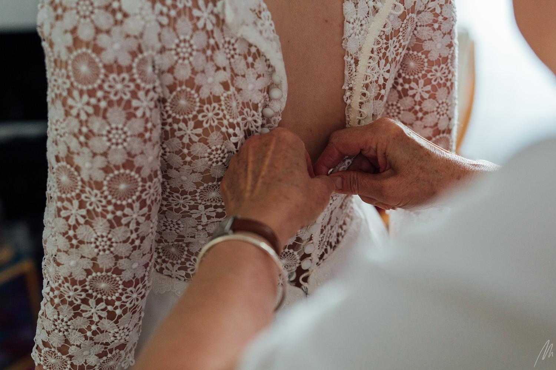 robe de mariée guipure Tiffany mariée