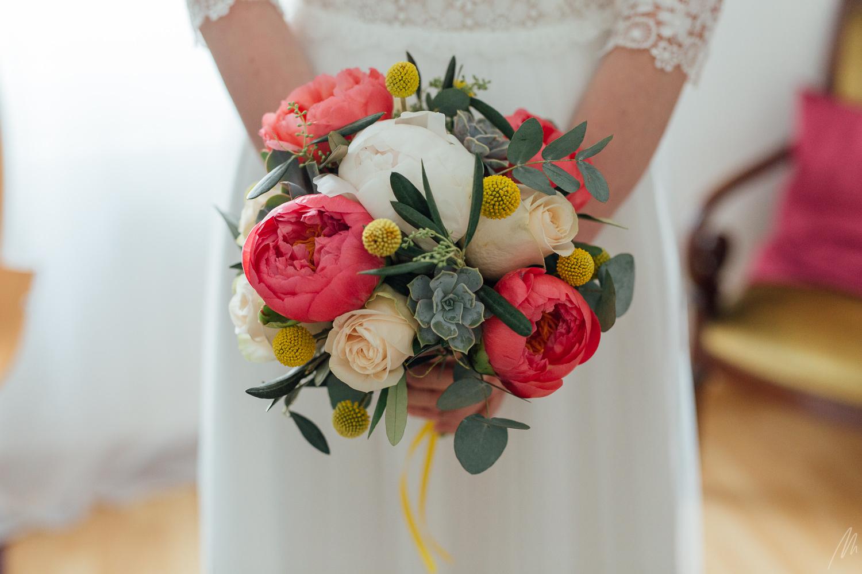 magnifique bouquet mariée agapanthe hoenheim