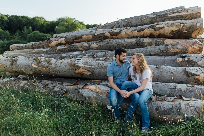 photographe en alsace de couple amoureux de la nature