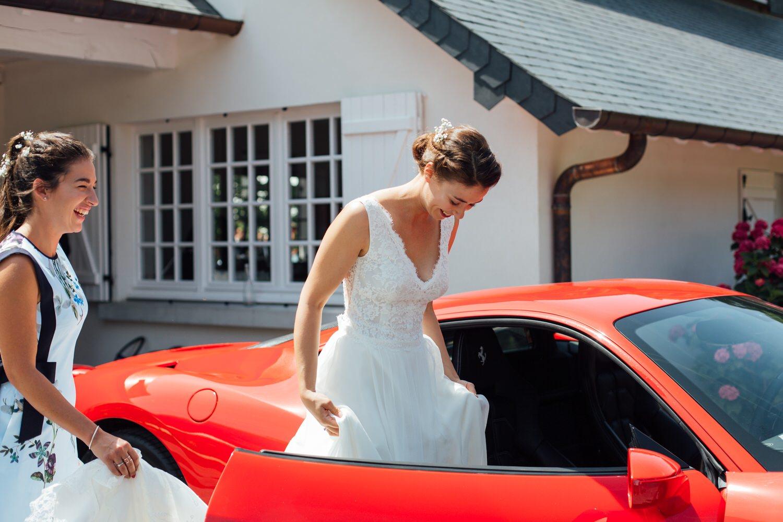 photographe mariage strasbourg mariée marie laporte